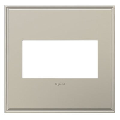 adorne 2-Gang Wall Plate Finish: Antique Nickel