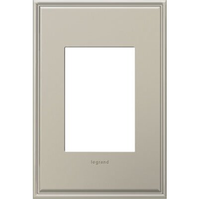 adorne 1-Gang 3-Module Wall Plate Finish: Antique Nickel