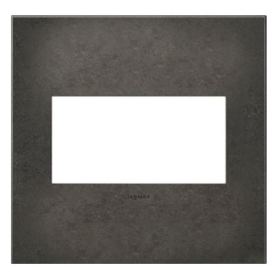 adorne 2-Gang Wall Plate Finish: Dark Burnished Pewter