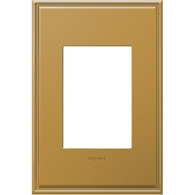 adorne 1-Gang 3-Module Wall Plate Finish: Antique Bronze
