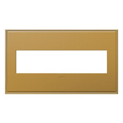 adorne 4-Gang Wall Plate Finish: Antique Bronze