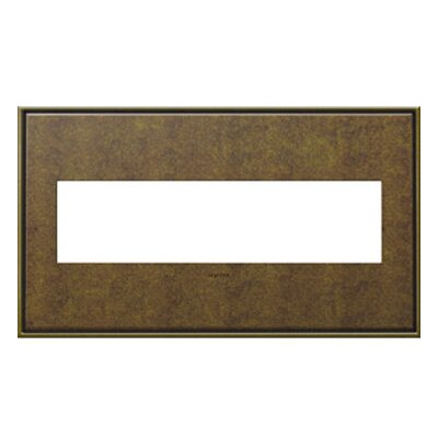adorne 4-Gang Wall Plate Finish: Aged Brass