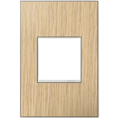 adorne 1-Gang Wall Plate Finish: French Oak