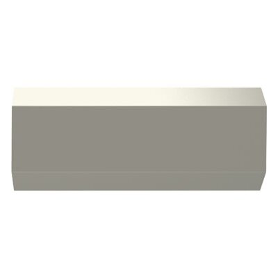 Adorne 12.5 Under Cabinet Bar Light Finish: Silver