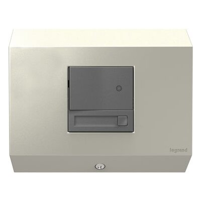 adorne Control Box with Paddle Dimmer Finish: Titanium