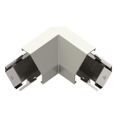 Adorne Under Cabinet Modular Track Corner Connector Finish: Titanium