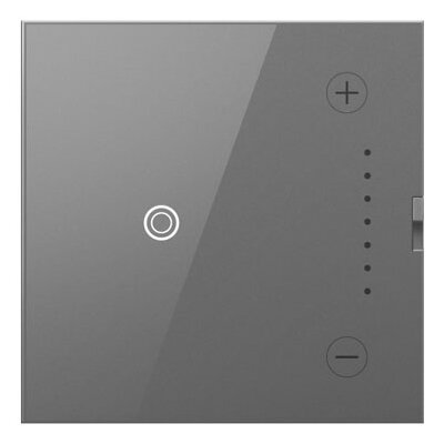adorne Wireless Master Touch Dimmer Finish: Magnesium