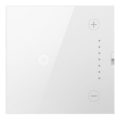 adorne Wireless Master Touch Dimmer Finish: White
