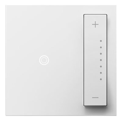adorne SofTap Dimmer Finish: White