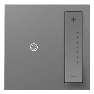 adorne SofTap Dimmer, Wireless Remote Finish: Magnesium