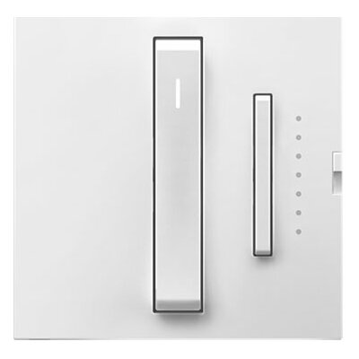 adorne Whisper Dimmer, Wireless Remote Finish: White