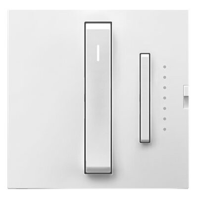 adorne Whisper Dimmer, Wireless Master Finish: White