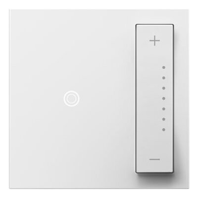adorne SofTap Dimmer, Wireless Remote Finish: White