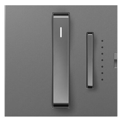 adorne Whisper Dimmer, Wireless Remote Finish: Magnesium