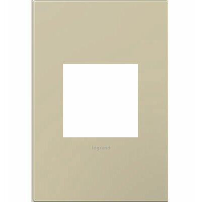 adorne 1-Gang Wall Plate Finish: Ashen Tan