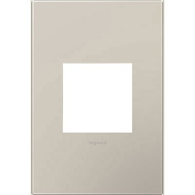 adorne 1-Gang Wall Plate Finish: Greige