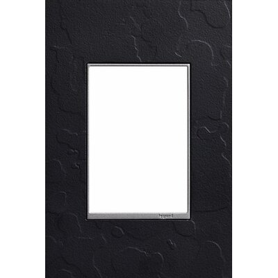 Adorne Hubbardton Forge 1-Gang+ Wall Plate Finish: Black