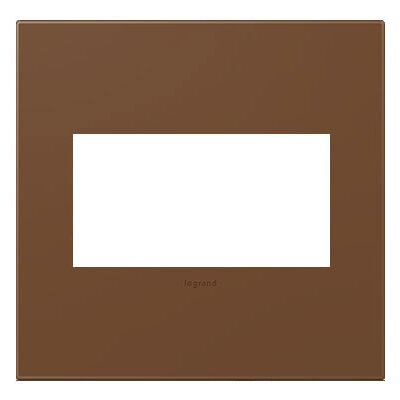 adorne 2-Gang Wall Plate Finish: Cappuccino