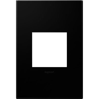 adorne 1-Gang Wall Plate Finish: Black Ink