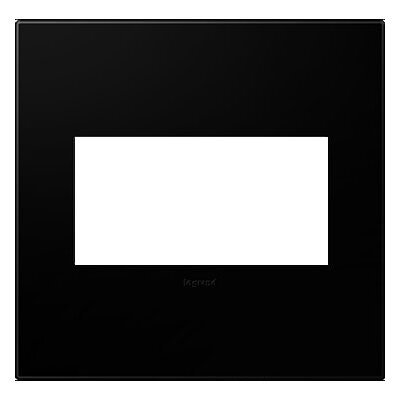 adorne 2-Gang Wall Plate Finish: Black Ink