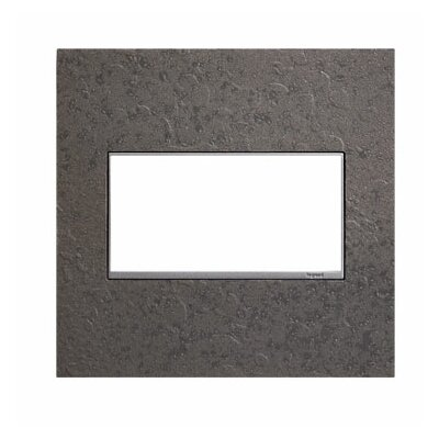 Adorne Hubbardton Forge 2-Gang Wall Plate Finish: Natural Iron