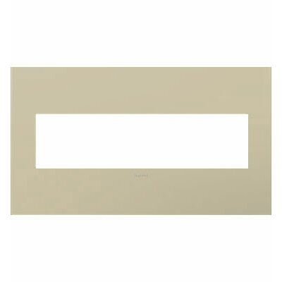 adorne 4-Gang Wall Plate Finish: Ashen Tan
