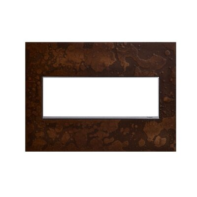Adorne Hubbardton Forge 3-Gang Wall Plate Finish: Bronze