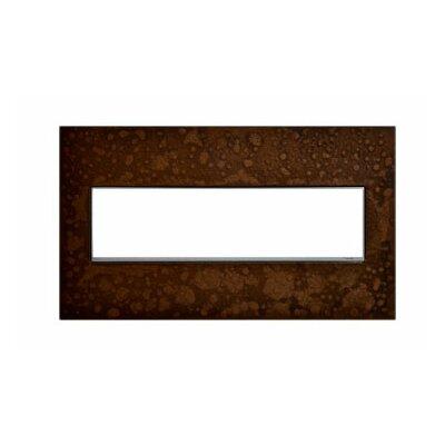 Adorne Hubbardton Forge 4-Gang Wall Plate Finish: Bronze