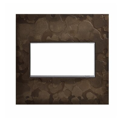 Adorne Hubbardton Forge 2-Gang Wall Plate Finish: Dark Smoke