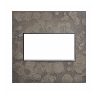 Adorne Hubbardton Forge 2-Gang Wall Plate Finish: Burnished Steel
