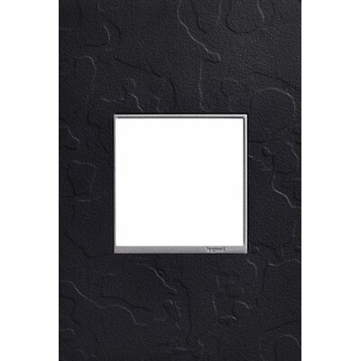 Adorne Hubbardton Forge 1-Gang Wall Plate Finish: Black