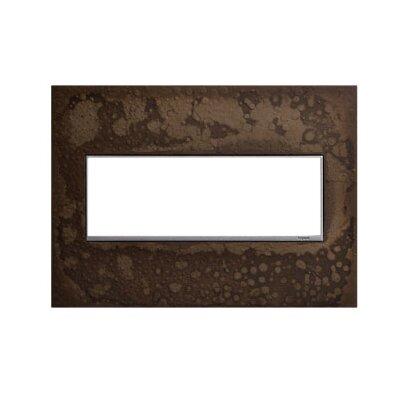Adorne Hubbardton Forge 3-Gang Wall Plate Finish: Dark Smoke