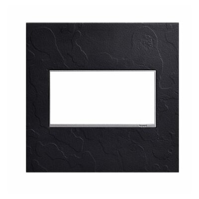 Adorne Hubbardton Forge 2-Gang Wall Plate Finish: Black