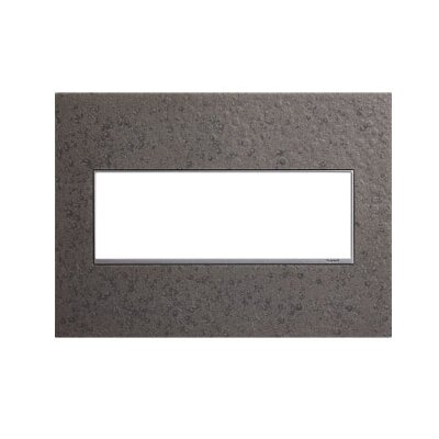 Adorne Hubbardton Forge 3-Gang Wall Plate Finish: Natural Iron