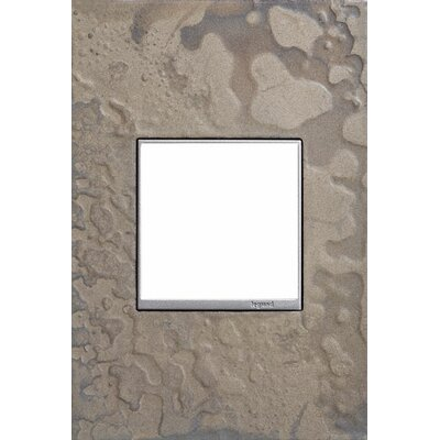 Adorne Hubbardton Forge 1-Gang Wall Plate Finish: Burnished Steel
