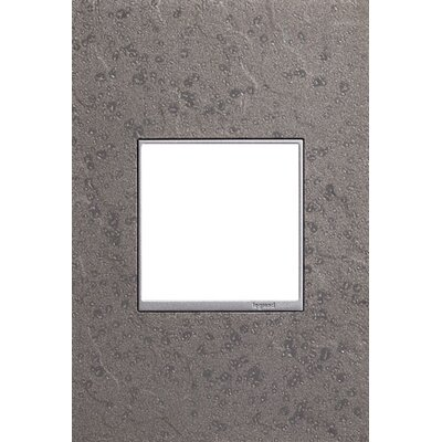 Adorne Hubbardton Forge 1-Gang Wall Plate Finish: Natural Iron