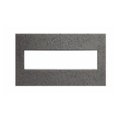 Adorne Hubbardton Forge 4-Gang Wall Plate Finish: Natural Iron
