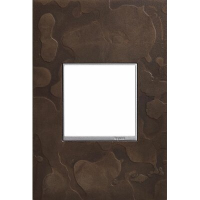 Adorne Hubbardton Forge 1-Gang Wall Plate Finish: Dark Smoke