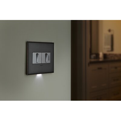 Adorne Whisper Light Switches Finish: White