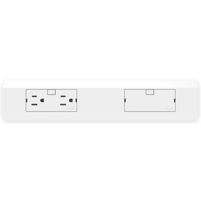 Adorne Under Cabinet Modular Light Accessory Size: 12 W, Finish: White