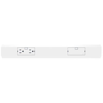 Adorne Under Cabinet Modular Light Accessory Size: 18 W, Finish: White