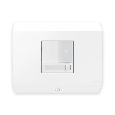 adorne Control Box with Paddle Dimmer Finish: White
