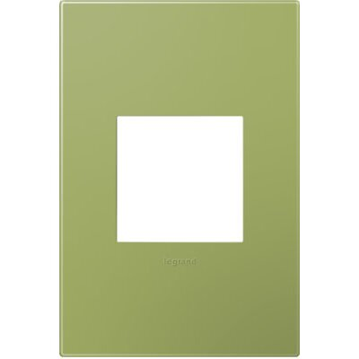 adorne 1-Gang Wall Plate Finish: Lichen Green