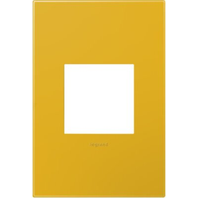 adorne 1-Gang Wall Plate Finish: Honey