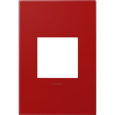 adorne 1-Gang Wall Plate Finish: Cherry