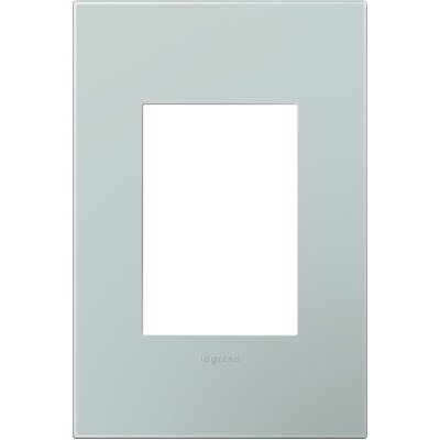 adorne 1-Gang, 3-Module Wall Plate Finish: Pale Blue