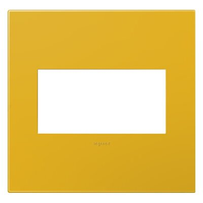adorne 2-Gang Wall Plate Finish: Honey