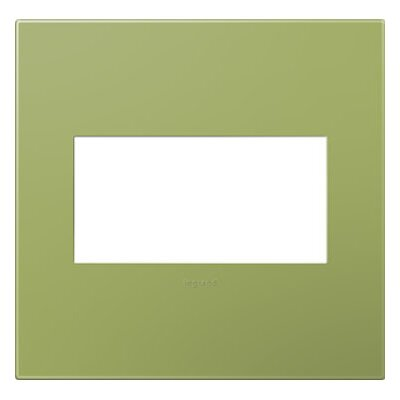 adorne 2-Gang Wall Plate Finish: Lichen Green