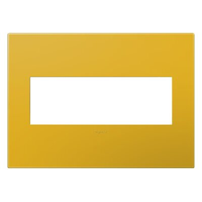 adorne 3-Gang Wall Plate Finish: Honey