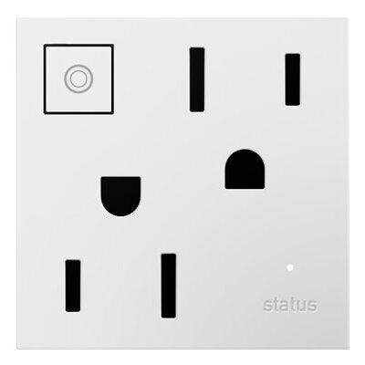 adorne Wireless Outlet Finish: White